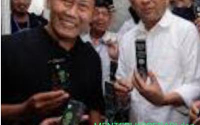 Minyak Sasak Bersa dengan Bapak Teten Masduki Selaku Menteri Koperasi dan UKM