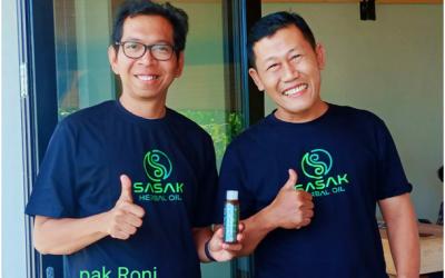Minyak Sasak Bersama dengan Founder TDA Bapak Roni